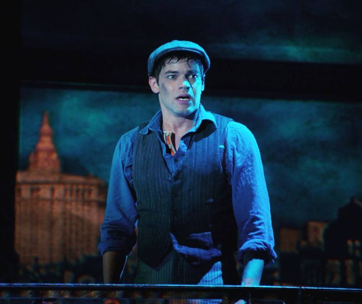 """Save my place. I'll be there."" Newsies hits theatres this week! #newsiesforever @newsies @plznfanku @karalindsay1 @keenanblogger"