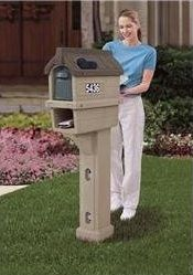 Mailbox - Mailboxes - Residential Mailboxes - Wall Mount Mailbox - Copper Mailbox - Locking Mailbox - Mailbox Post