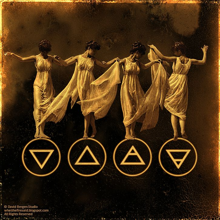 What The Fire Said: The Four Elements: Symbols