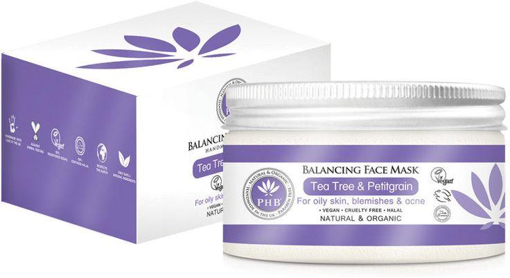 seulement €  24,49. Masque Equilibrant du Visage au Tea Tree & Petitgrain. 100 ml. Nettoyage en profondeur des peaux grasses et impures. 23 évaluation(s) client.
