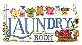 Laundry Room (cross-stitch pattern)