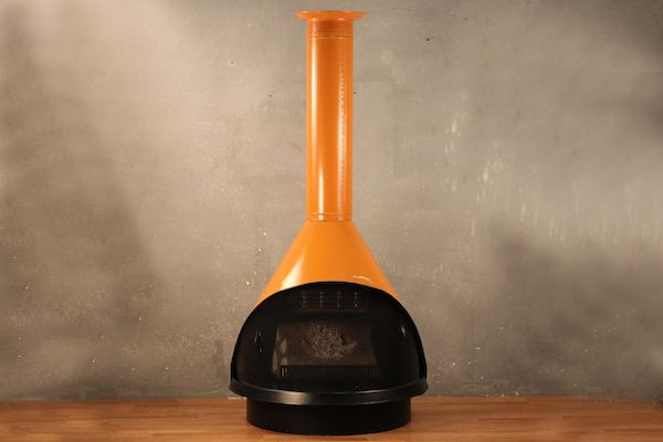 Mid Century Electric Fireplace Heater - Available on FurnishGreen.com