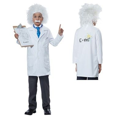 Boys Albert Einstein Costume – Scientist Costume
