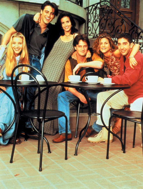 Friends Jennifer Aniston Courteney Cox Lisa Kudrow David Schwimmer Matt LeBlanc Matthew Perry Rachel Monica Phoebe Ross Joey Chandler