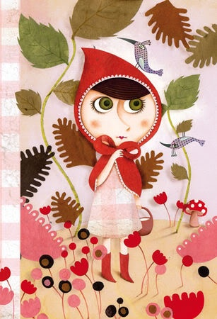 par Marie Desbons Little Red Riding Hood LRRH