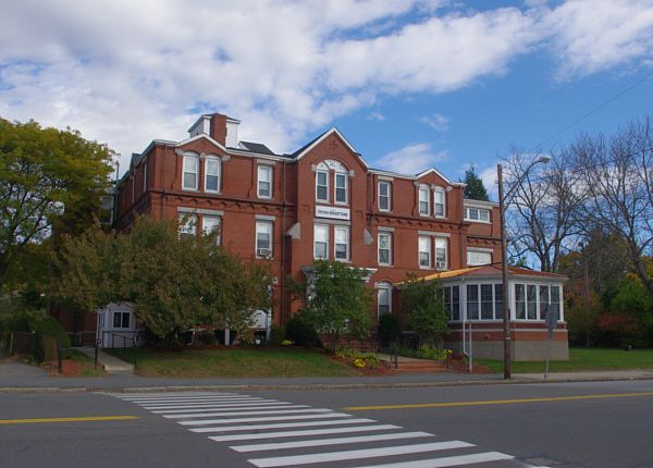 The Old Ladies' Home of Haverhill.  It was renamed the Stevens-Bennett Home in 1976 for its 100th anniversary.