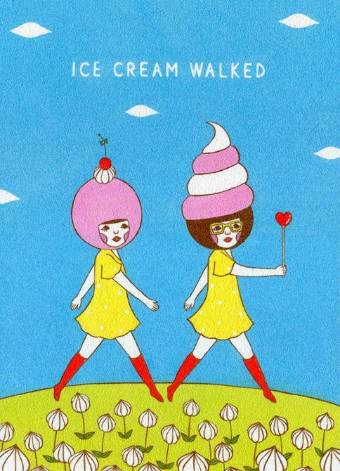 Ice Cream Walked by Naoshi