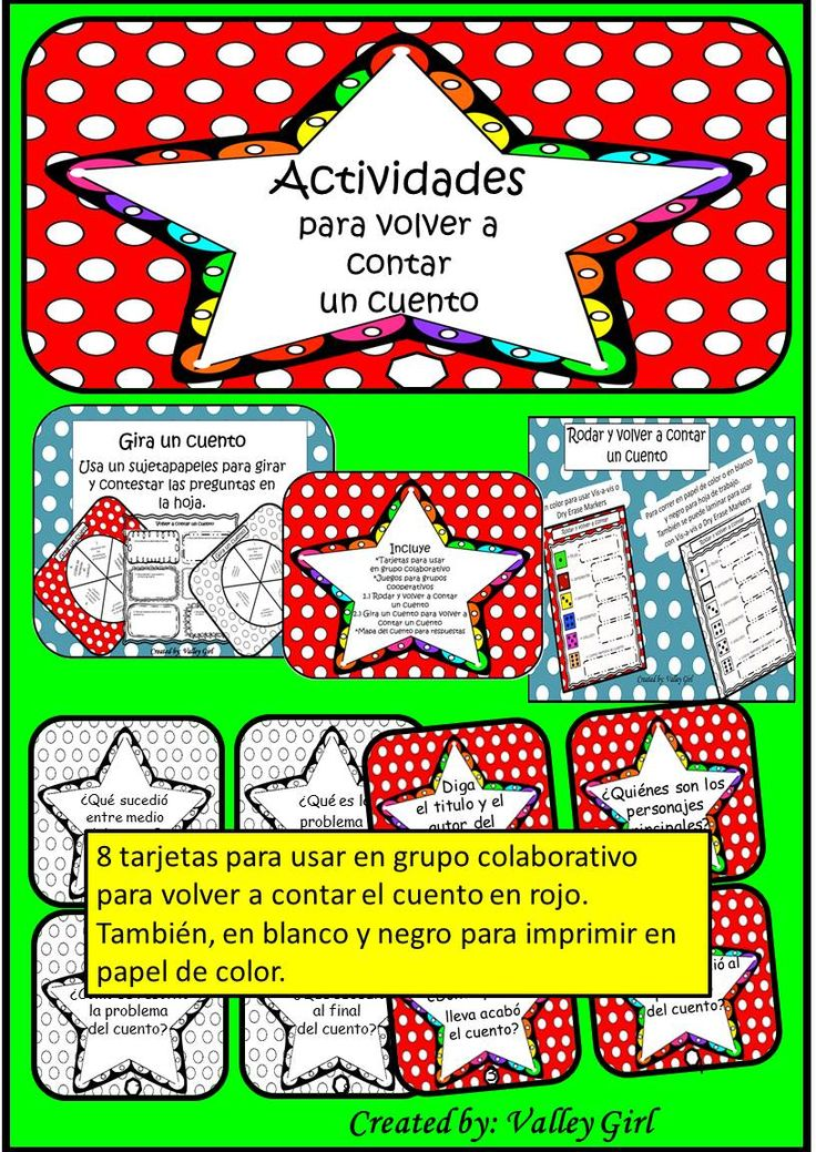 Retell: Volver a contar in Spanish