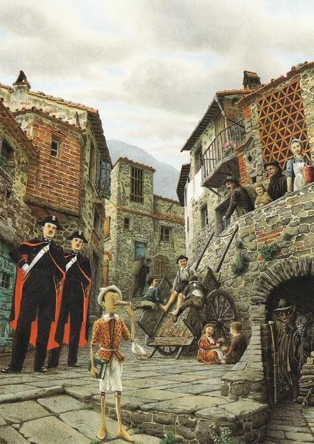 Roberto Innocenti. The Adventures of Pinocchio