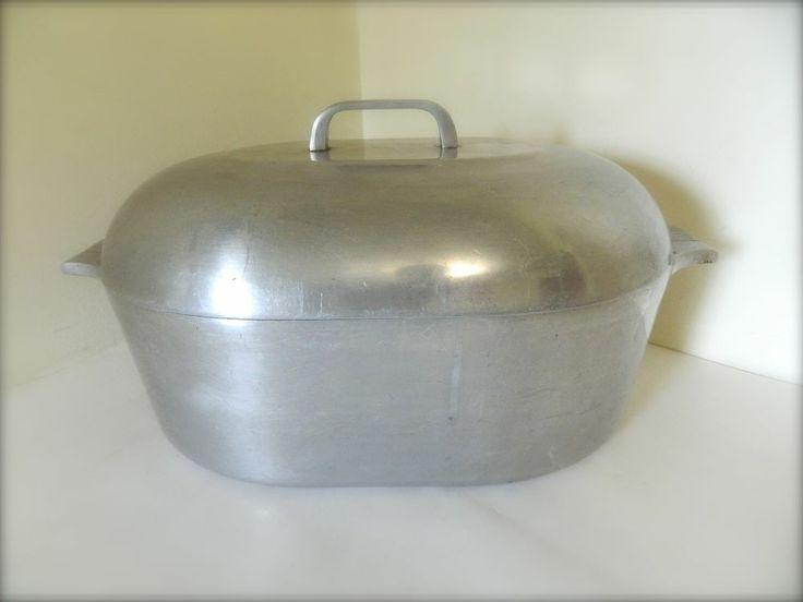 Vintage Wagner Ware Magnalite 4267 P Sidney Aluminum