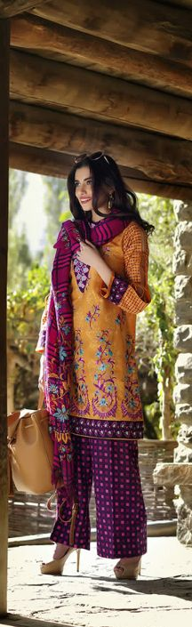 Lakhany Silk Mills Winter Dresses 2016 http://www.fashionhacks.net/lakhany-silk-mills-winter-dresses-2016/ … #LakhanySilkMillsWinterDresses