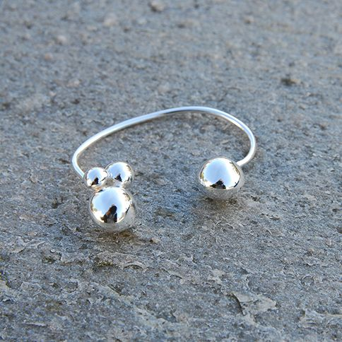 Silver ear cuff by wildaria