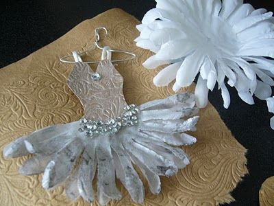 Love the flower as a tutu. Could be made into a hair clip for the dancing girls!