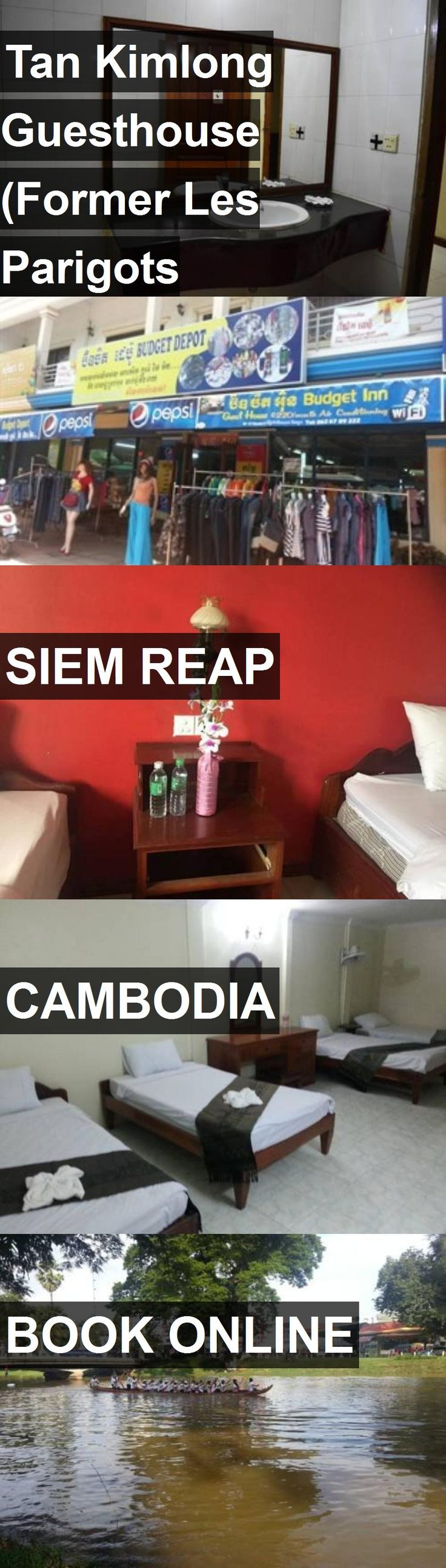 Hotel Tan Kimlong Guesthouse (Former Les Parigots Guesthouse) in Siem Reap, Cambodia. For more information, photos, reviews and best prices please follow the link. #Cambodia #SiemReap #travel #vacation #hotel