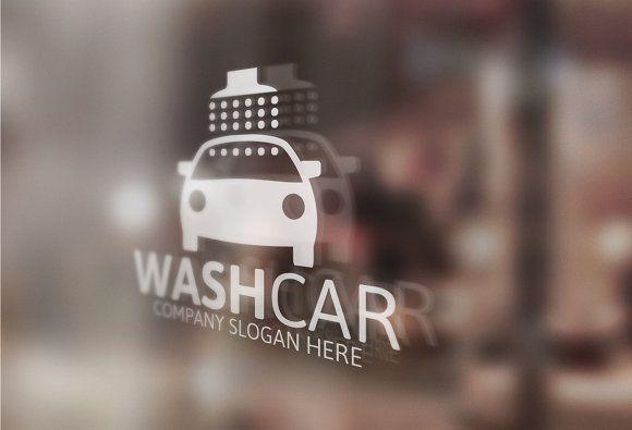 Car Wash Logo by Josuf Media on @creativemarket