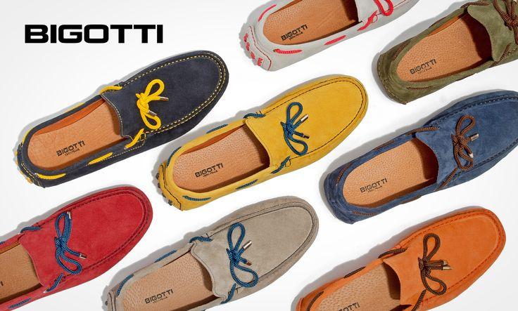 #Undeniable #comfort, #neutral or #vibrant #colours - the #mocassins will #freshen up your #casual #look www.bigotti.ro #followus #mensfashion #shoes #menstyle #summer #wardrobe #moda #barbati #pantofi #incaltaminte #suede #pieleintoarsa #confortabili #usori #vara #garderoba #Bigottiromania
