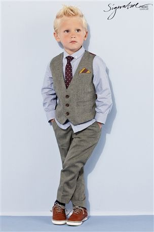 Buy Heritage Waistcoat Set (3mths-6yrs) from the Next UK online shop