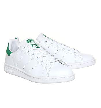 Adidas Stan Smith Core White Green - Unisex Sports