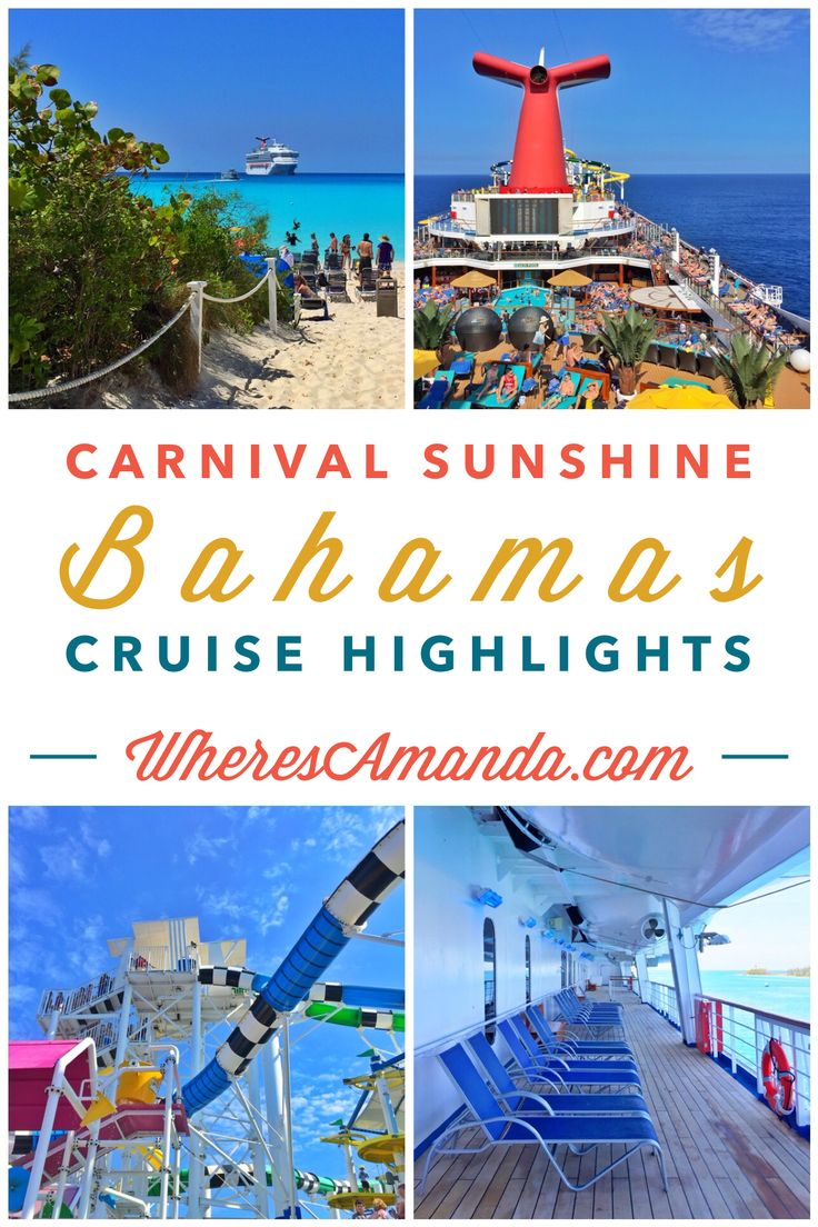 18 Best Carnival Sunshine Cruise Ship Images On Pinterest