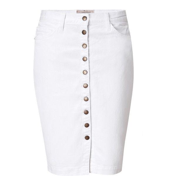 17 best ideas about Button Down Denim Skirt on Pinterest   Denim ...