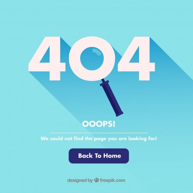 Download 404 Error Template In Flat Style For Free Templates Page Design Style