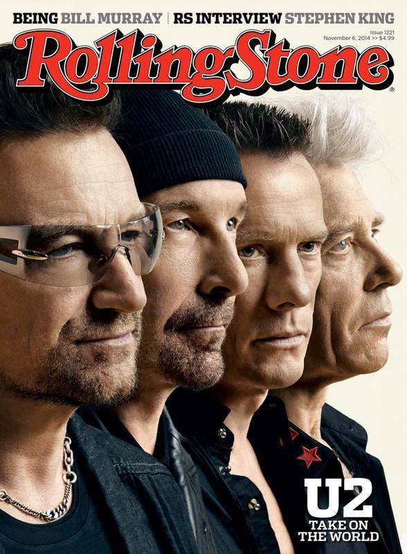 rolling stone magazine november 6 2014 u2 cover