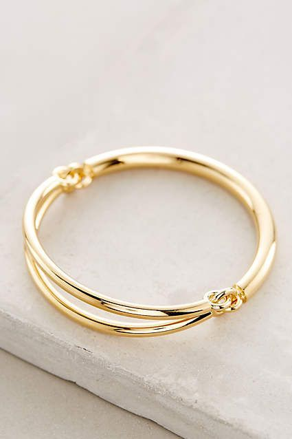 INSPIRATION :: Circlet Bangle #anthrofave #anthropologie :: I wonder if this, or something similar, could be made from brass wire.