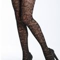 Winter Tights  If hose aren't your thing, consider a pair of patterned tights. The options are endless- you can find lacy stripes, floral swirls and even tiny hearts running up the back of your legs. Of course, you can also go the solid-colored tight route, too. Black will work against most dark-colored dresses. Experiment with purple, Kelly green and burgundy for a true winter look.
