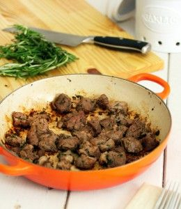 Simple Lamb Stew Meat