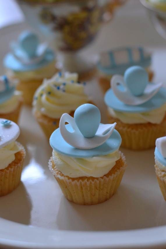 Pacifier Cakes Baby Shower