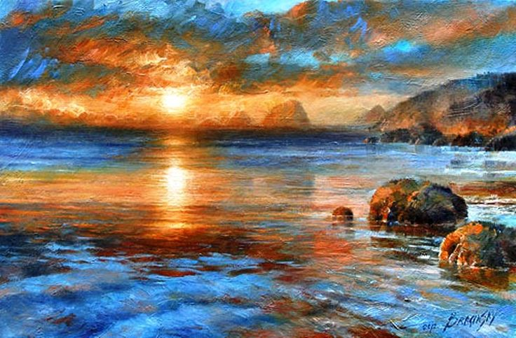 Ana Kostenko - Page 2 973ccb033891fac5cdc8c5633bf932fc--oil-painting-landscapes-oil-paintings