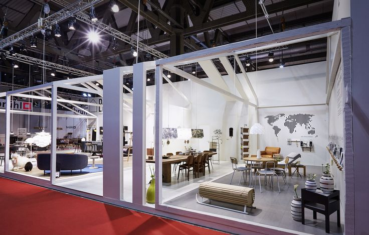 Danish Livingroom 2015 - design of pavillion for 20 danish design brands (Milan Furniture Fair)