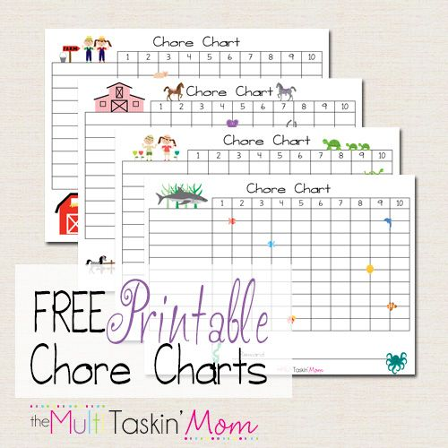 Best Chore Charts Images On   Free Printable Free