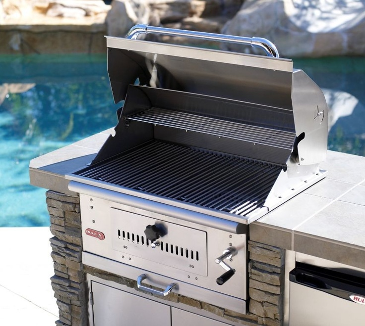 Bison Charcoal Grill by Bull available in LP or NG - Hot Tubs and Pool  Tables Outlet