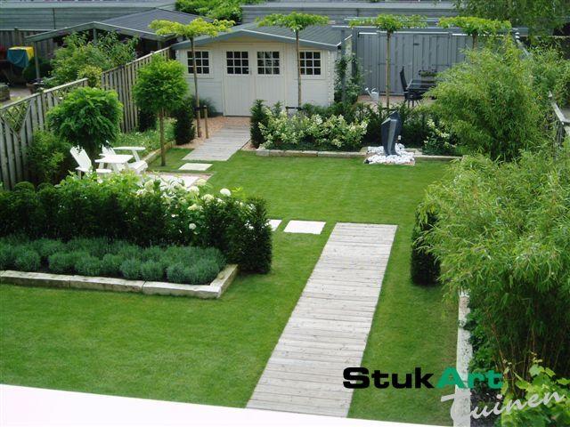 Achtertuin nieuw vennep particuliere tuinen impressies for Tuinontwerpen kleine tuin foto s