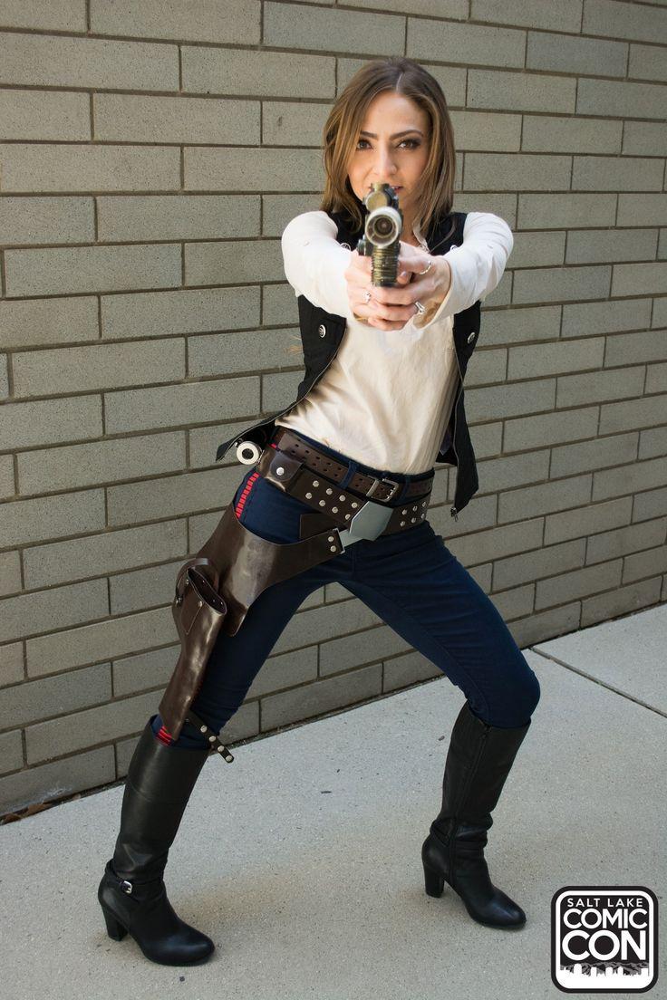 Han Solo cosplay at Salt Lake Comic Con 2015                                                                                                                                                      More