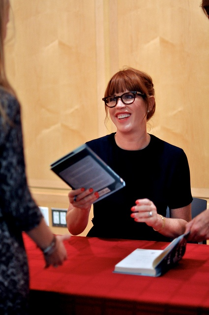 Molly Ringwald at the @Vanessa Princeton Library by pplflickr, via Flickr
