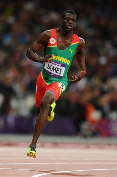 Kirani James pictures   Kirani James Kirani James of Grenada competes in the Men's 400m final ...OS Guld London 2012