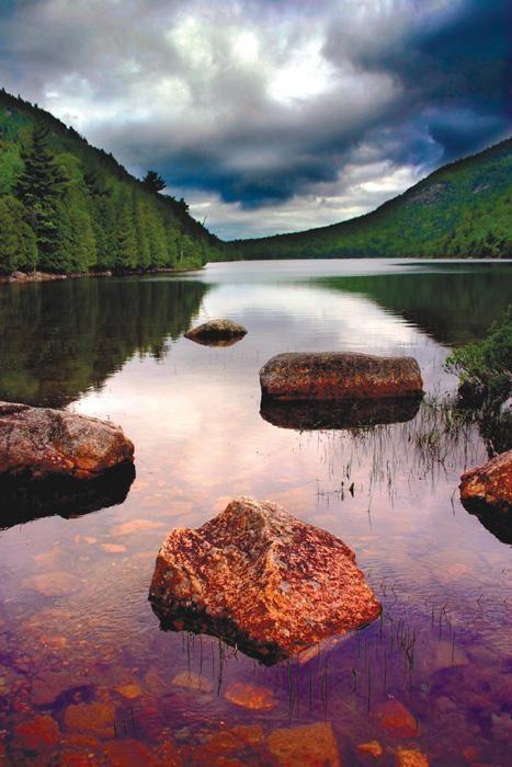 Eagle Lake at Acadia National Park via OhRanger.com