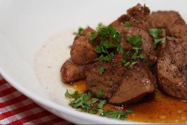 Afelia (Pork in Red Wine)