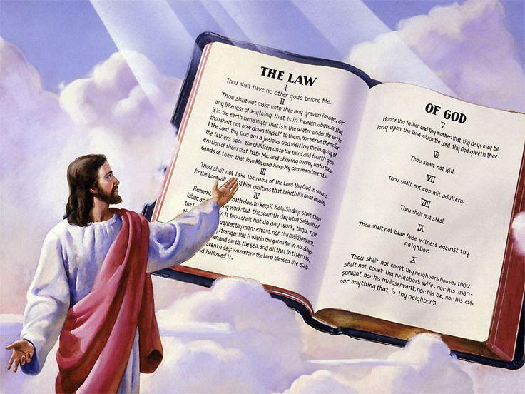 Terang Kecil Menuntun Kepada Terang Besar Yesus Kristus dan Hukum Moral (Sepuluh Hukum) Pengertian umum tentang hukum adalah undang-undang atau peraturan, d