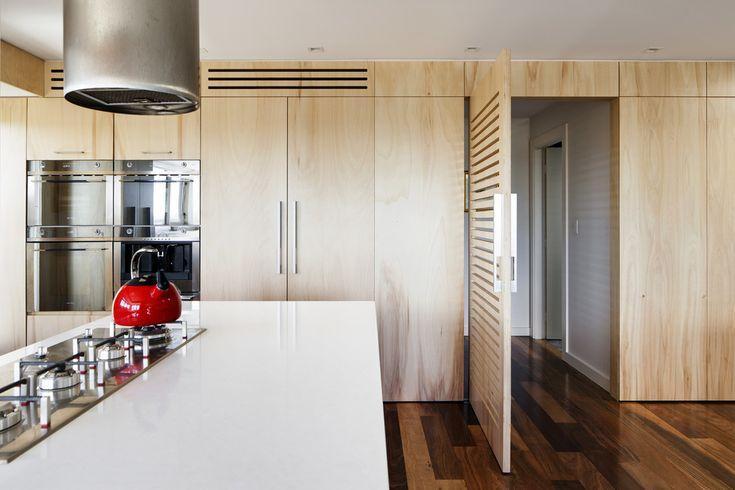Best grade, birch plywood cabinetry and fridge door panels
