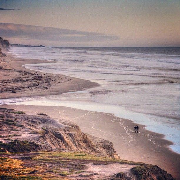 San Gregorio State Beach in San Gregorio, CA
