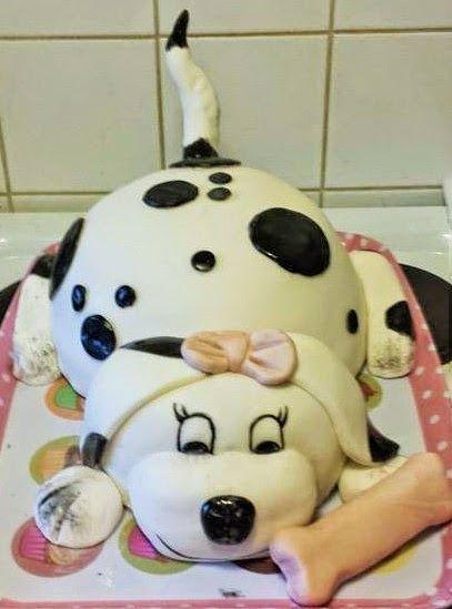 .: Dalmatian cake