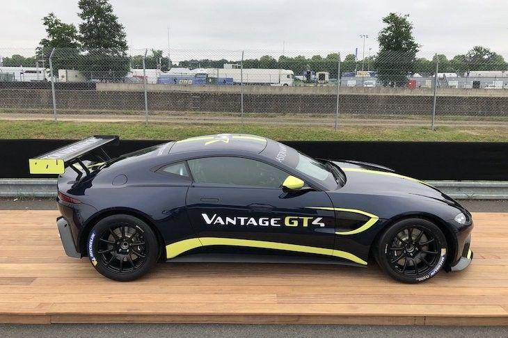 Aston Martin Vantage Gt4 2019 Voiture Bateau Moto