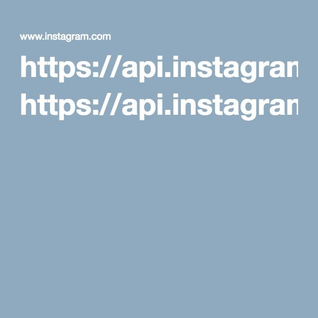 https://api.instagram.com/v1/users/{user-id}/?access_token=ACCESS-TOKEN