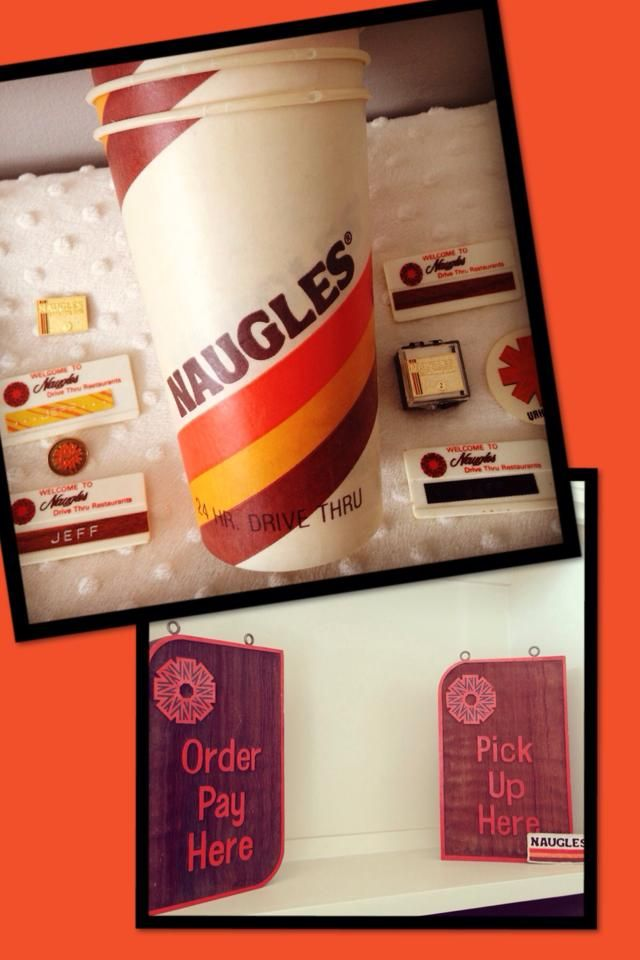 Naugles cups and more...