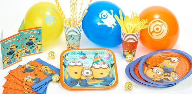 Déco anniversaire Moi, moche et méchant : Minion™ avec VegaooParty