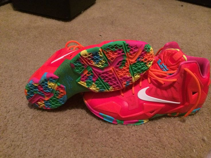 Lebron 11 Fruity Pebbles