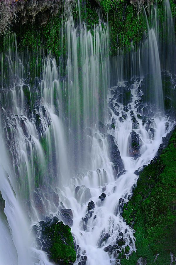 Burney Falls - Northern California; called so by Theodore Roosevelt.